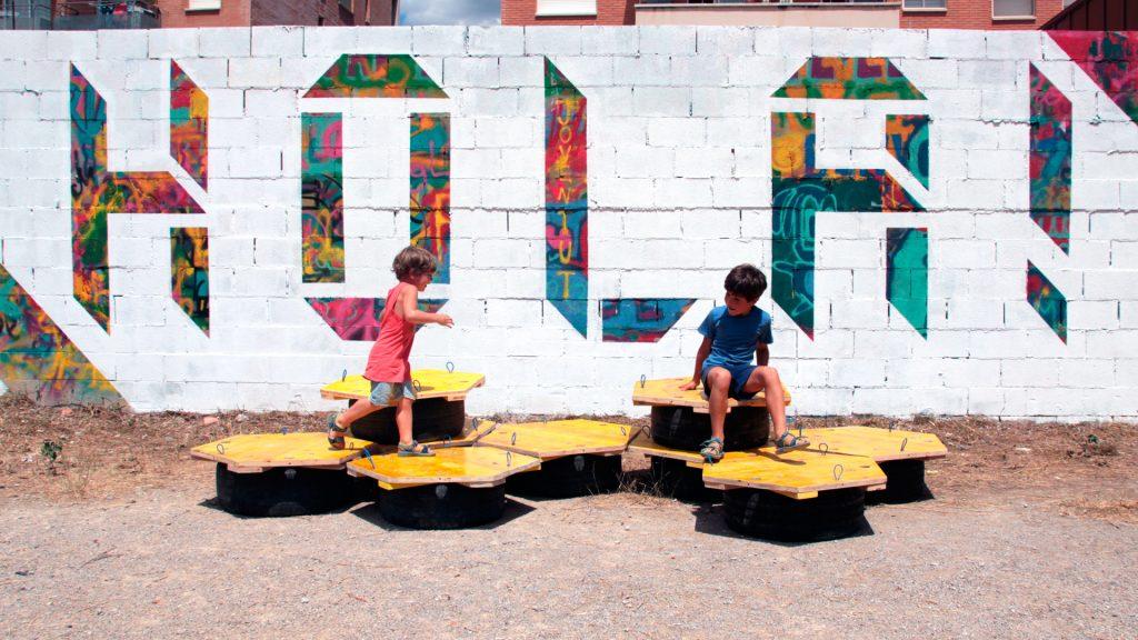 Projecte a l'espai públic de LaCol a Vilafranca